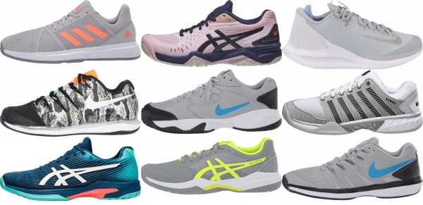buy lightweight grey tennis shoes for men and women