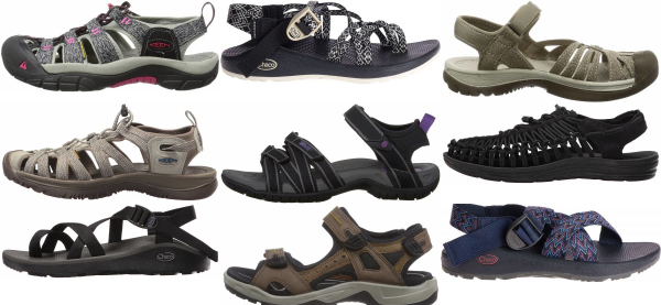 buy lightweight hiking sandals for men and women