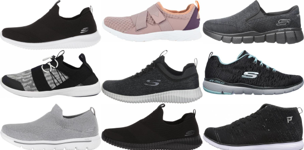buy lightweight knit upper walking shoes for men and women