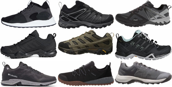 buy lightweight lace up hiking shoes for men and women