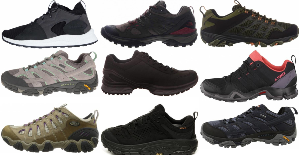 buy lightweight leather hiking shoes for men and women