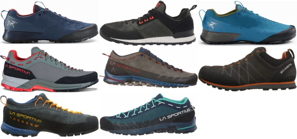 buy lightweight mesh upper approach shoes for men and women