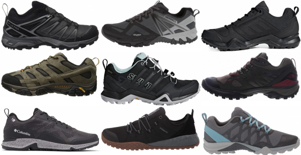 buy lightweight mesh upper hiking shoes for men and women