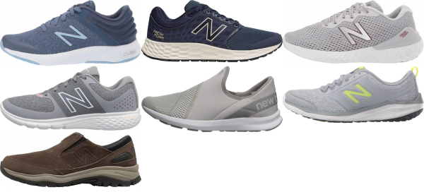 buy lightweight new balance walking shoes for men and women