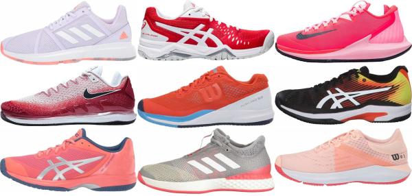 buy lightweight orange tennis shoes for men and women