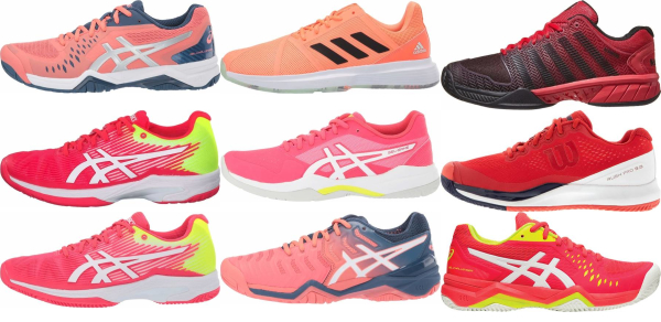buy lightweight pink tennis shoes for men and women