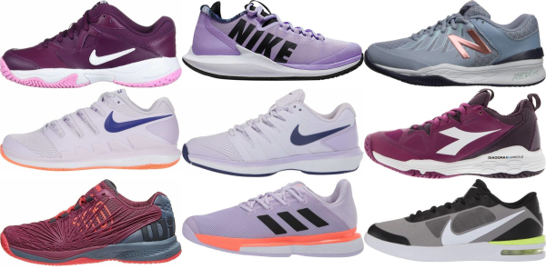 buy lightweight purple tennis shoes for men and women