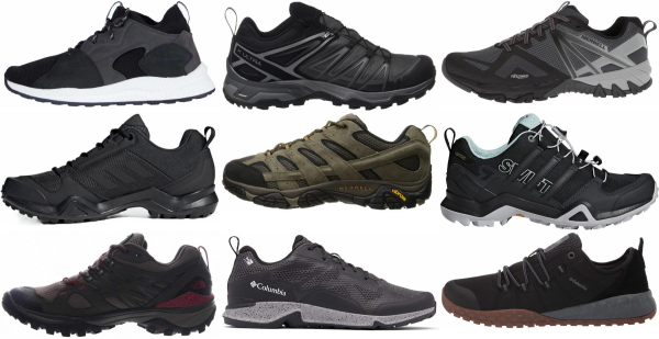 buy lightweight rubber sole hiking shoes for men and women