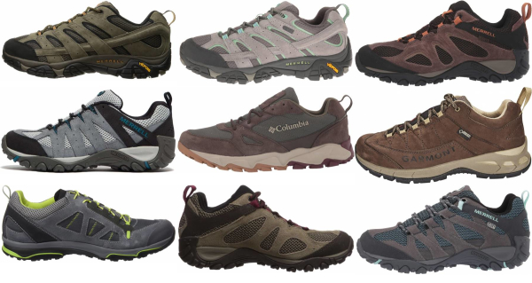 buy lightweight suede hiking shoes for men and women