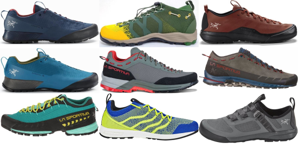 buy lightweight vibram sole approach shoes for men and women