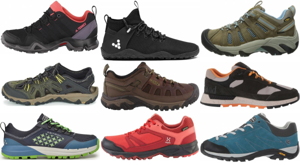 buy lightweight water repellent hiking shoes for men and women