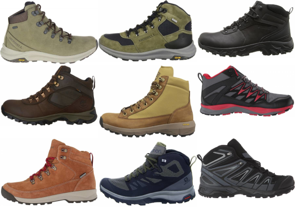 buy lightweight waterproof hiking boots for men and women