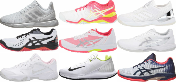 buy lightweight white tennis shoes for men and women