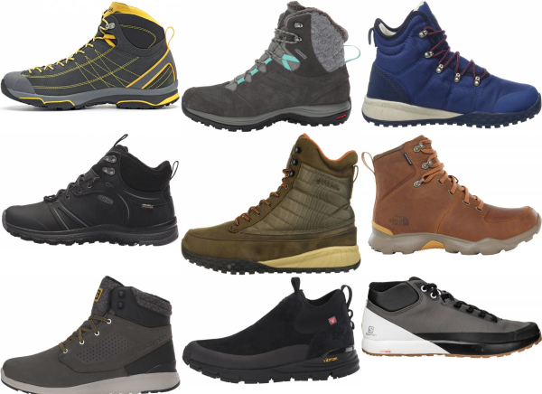 buy lightweight winter hiking boots for men and women