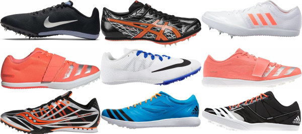 buy long jump track & field shoes for men and women