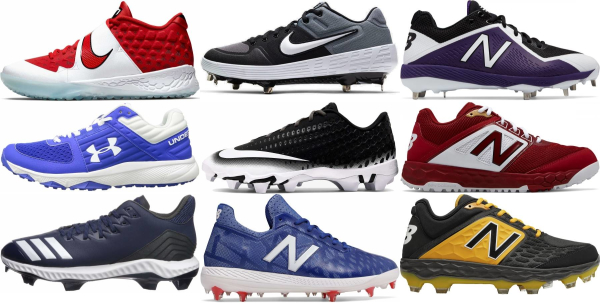buy low baseball cleats for men and women