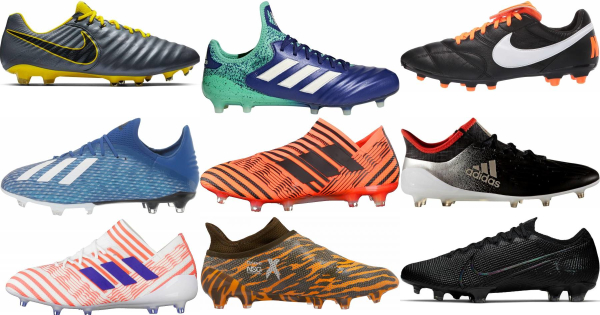 buy low top firm ground soccer cleats for men and women