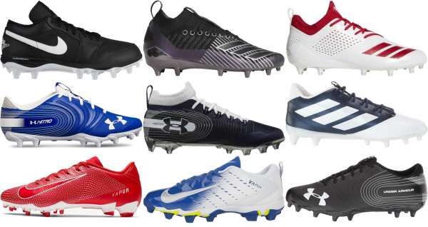 buy low football cleats for men and women