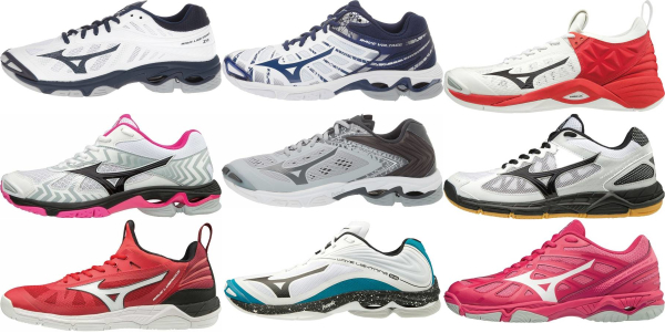 buy low mizuno wave volleyball shoes for men and women