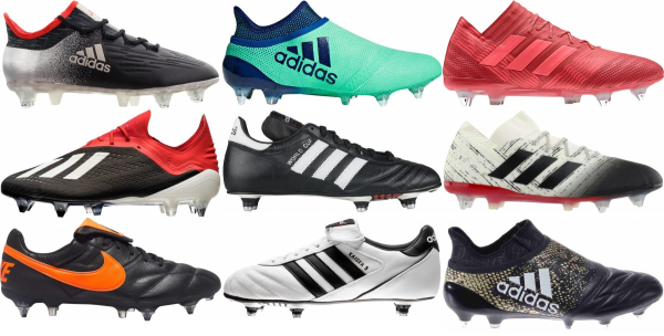 buy low top soft ground soccer cleats for men and women