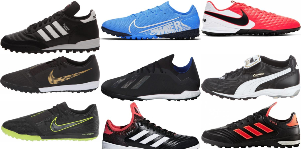 buy low top turf soccer cleats for men and women