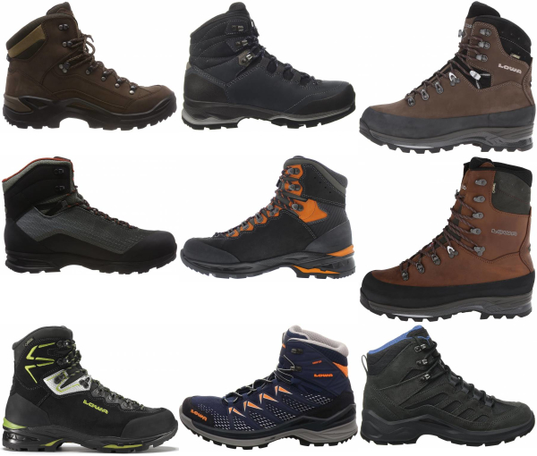 buy lowa waterproof hiking boots for men and women