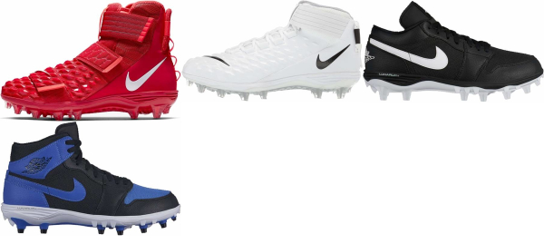 buy lunarlon football cleats for men and women