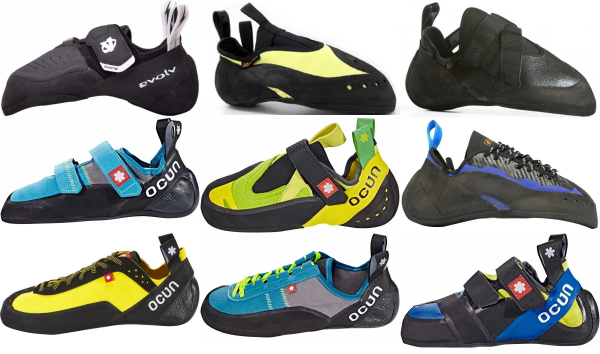 buy medium stiff climbing shoes for men and women
