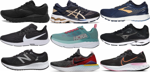 buy medium toe box running shoes for men and women