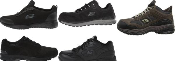 buy memory foam work walking shoes for men and women