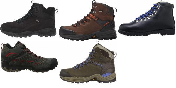 buy merrell backpacking boots for men and women