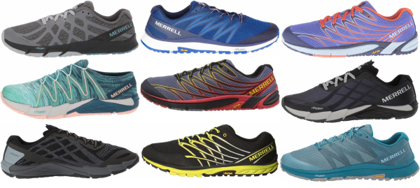 buy merrell bare access running shoes for men and women