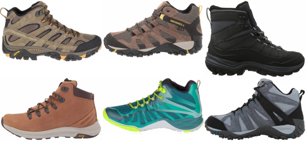 buy merrell cheap hiking boots for men and women
