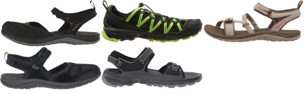 buy merrell cheap hiking sandals for men and women