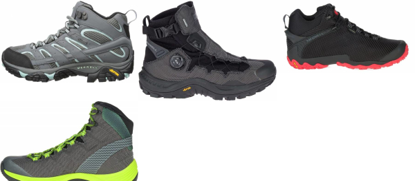 buy merrell gore-tex hiking boots for men and women