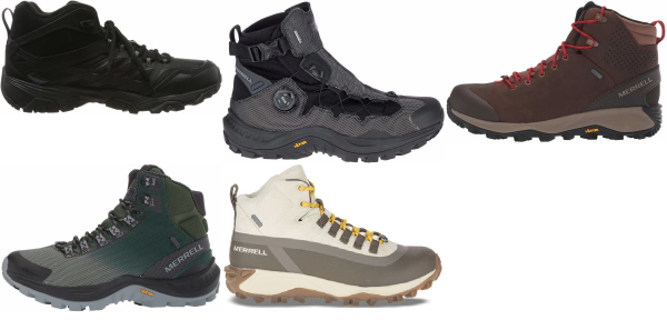 buy merrell insulated hiking boots for men and women