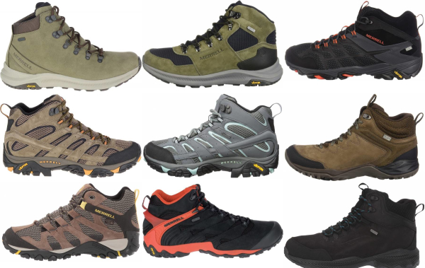 buy merrell lightweight hiking boots for men and women