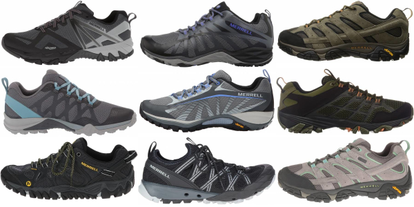 buy merrell lightweight hiking shoes for men and women