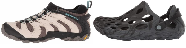 buy merrell slip on hiking shoes for men and women