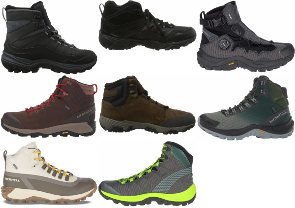buy merrell snow hiking boots for men and women