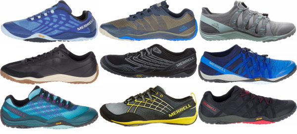 buy merrell trail glove running shoes for men and women