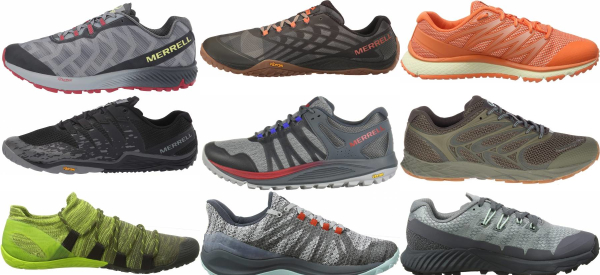 buy merrell trail running shoes for men and women