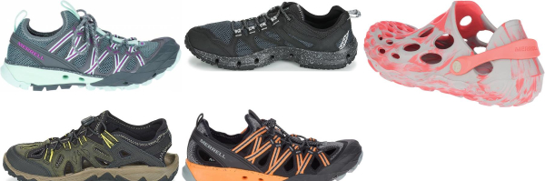 buy merrell water hiking shoes for men and women