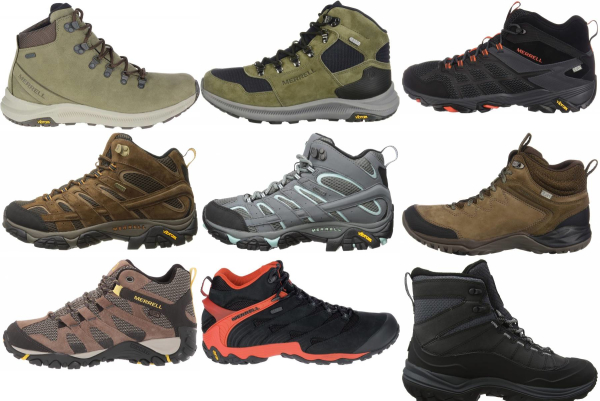 buy merrell waterproof hiking boots for men and women