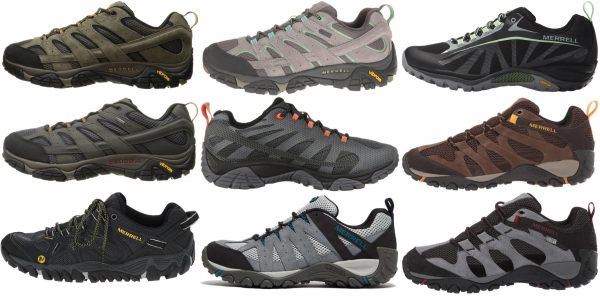 buy merrell wide hiking shoes for men and women