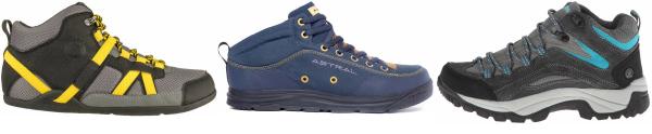 buy mesh upper water repellent hiking boots for men and women