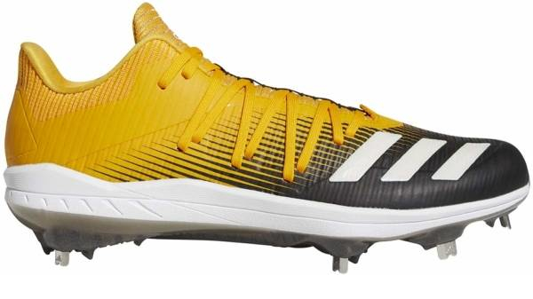 buy metal gold baseball cleats for men and women