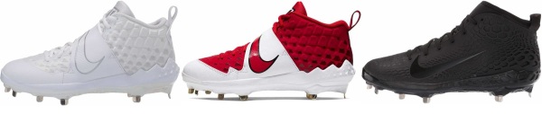 buy metal mike trout baseball cleats for men and women