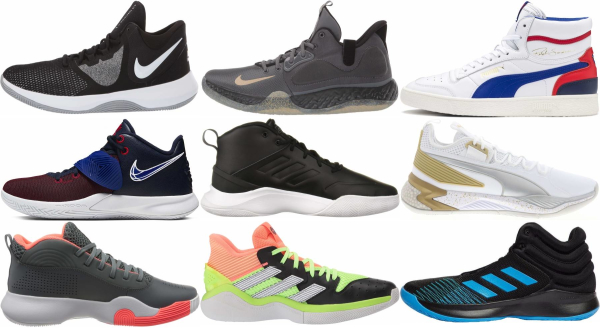 buy mid cheap basketball shoes for men and women