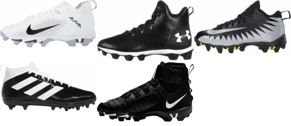 buy mid cheap football cleats for men and women